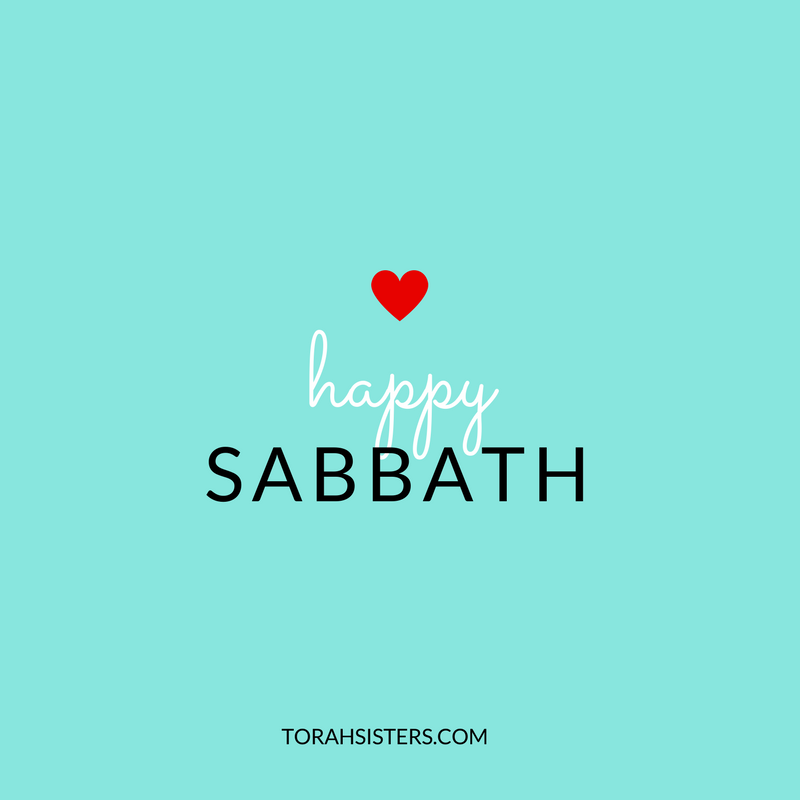 happy sabbath heart