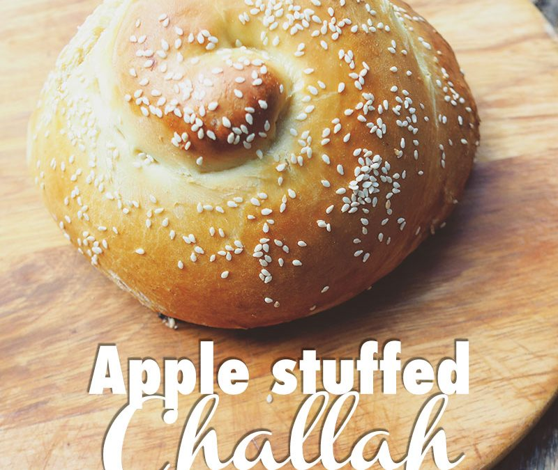Apple Stuffed Challah for Rosh Hashanah