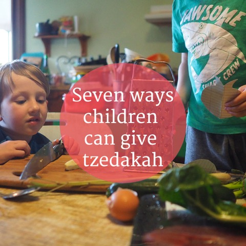 7 Ways Kids Can Give Tzedakah