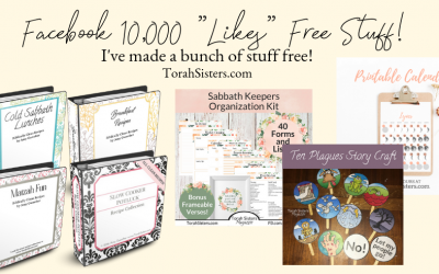 Free Products to Celebrate 10,000 Likes!