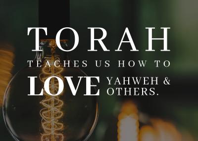 torah teaches us to love